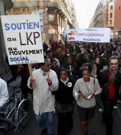 22 février 2009 soutien à LKP